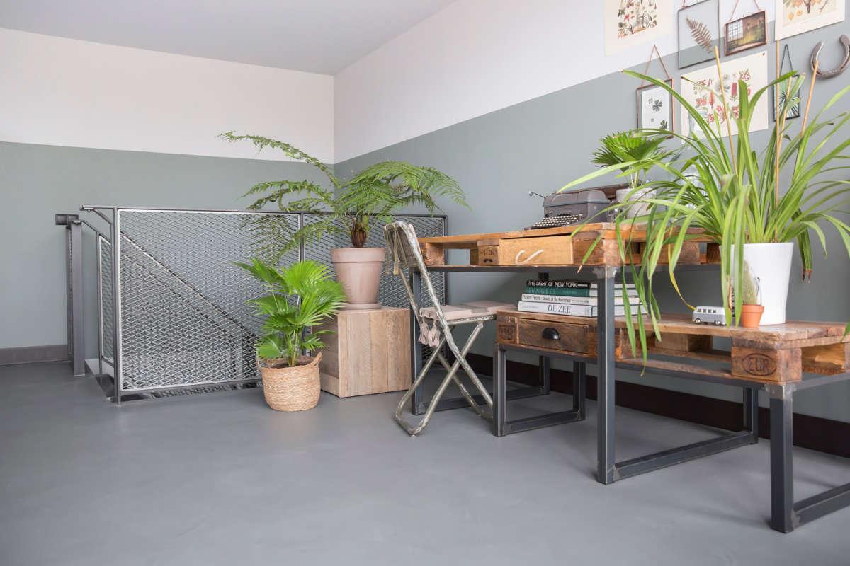 industrieel huis met beton cire vloer oisterwijk bruizt. Black Bedroom Furniture Sets. Home Design Ideas